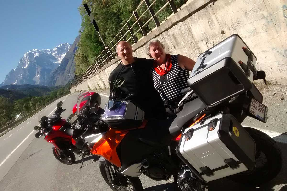 Alps Motorcycle Trip